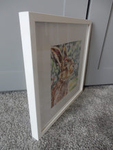 Load image into Gallery viewer, Harry the hare Original Artwork by Stella Tooth Side