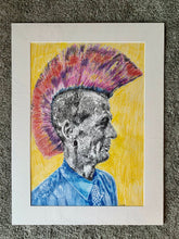 Load image into Gallery viewer, Last of the Mohicans by Stella Tooth Artist Drawing Portrait