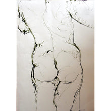 Load image into Gallery viewer, Life Drawing Ink on paper by Stella Tooth