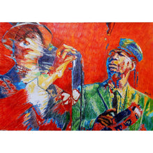 Load image into Gallery viewer, 2 Tone band The Selecter Pauline Black and Gaps Hendrickson by Stella Tooth