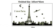 Load image into Gallery viewer, Glow in the dark Eiffel Tower sticker