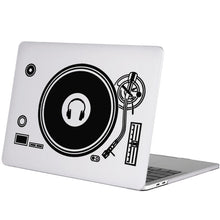 "Load image into Gallery viewer, Laptop sticker for Apple Macbook Air Pro Retina 11"" 12"" 13"" 15 and Computer Mi Notebook record player, headphones"