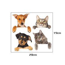 Load image into Gallery viewer, 3D Switch stickers cats and dogs