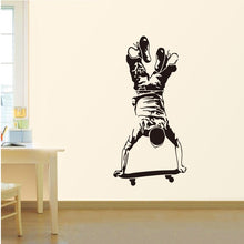 Load image into Gallery viewer, Inverted skateboard sticker