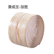 Load image into Gallery viewer, Flexible PVC sealing self-adhesive strip roll several solid colors, marble pattern