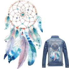 Load image into Gallery viewer, Dreamcatcher Best Wishes Patches Iron On Transfer Stickers Heat Transfers Patch For Clothing T-shirt Decor DIY Clothes Patches
