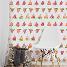 Load image into Gallery viewer, Wallpaper stickers different patterns (geometric, pink unicorns, flamingos, sheep, pineapples...)