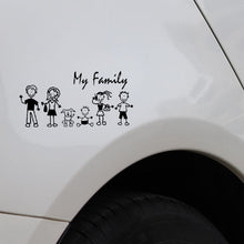 Load image into Gallery viewer, My family car and motorcycle stickers