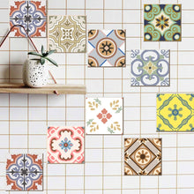 Load image into Gallery viewer, Cement tile imitation stickers (10cm*10cm, 20pcs/set)