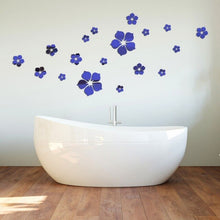 Load image into Gallery viewer, 3D flower mirror stickers