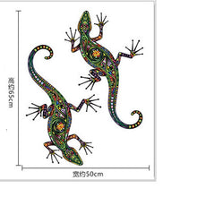 Load image into Gallery viewer, Ethnic gecko stickers