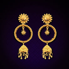 Load image into Gallery viewer, 22K YG Ramleela Earring