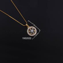 Load image into Gallery viewer, 14K YG Diamond Pendant