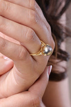Load image into Gallery viewer, 18K YG Pearl Ring