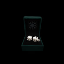 Load image into Gallery viewer, Sterling Silver Stud Earring with Pearl-1pair