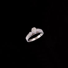 Load image into Gallery viewer, 18K YG Pressure Set Women Diamond Ring-1Pc