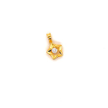 Load image into Gallery viewer, 22K YG Fancy Zircon Pendant-1pc
