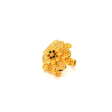 Load image into Gallery viewer, 22K YG Women Umbrella Ring Size 11-13(L-M)-1pc