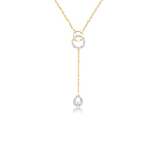 Load image into Gallery viewer, 18K YG Diamond Fancy Necklace-1pc