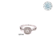 Load image into Gallery viewer, 18K WG Prong Set Centre Solitaire Engagement Diamond Ring-1PC