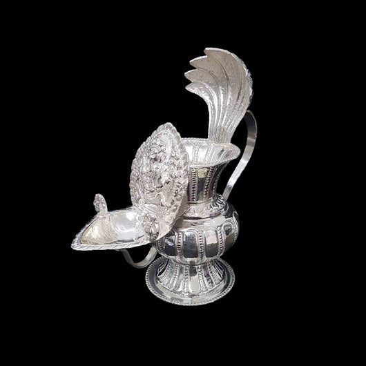Ganesh Silver Sukunda Height 15-17cm
