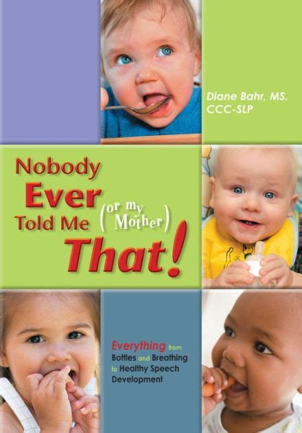 Cover of Diane Bahr's book Nobody Ever Told Me That