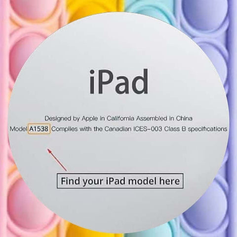 How to determine what iPad model you have