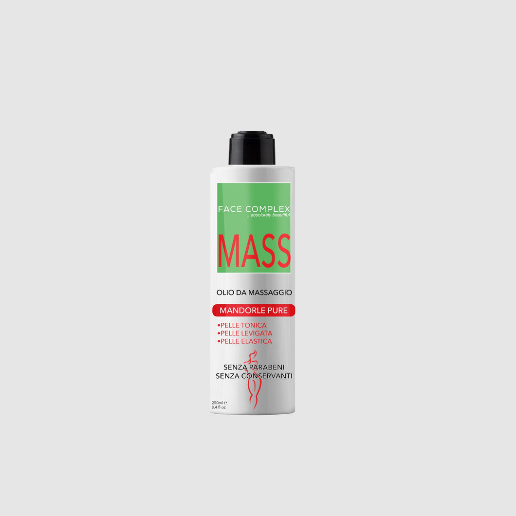 Olio da massaggio mandorle pure 250ml - Face Complex Cosmetics