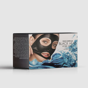 Black Head Pore Strips Disposable Masks pulizia della pelle - Face Complex Cosmetics