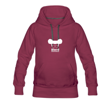 Load image into Gallery viewer, Women's Hoodie Dress - burgundy