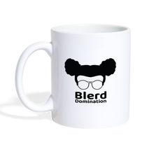 Load image into Gallery viewer, Blerd Domination Logo Mug - white