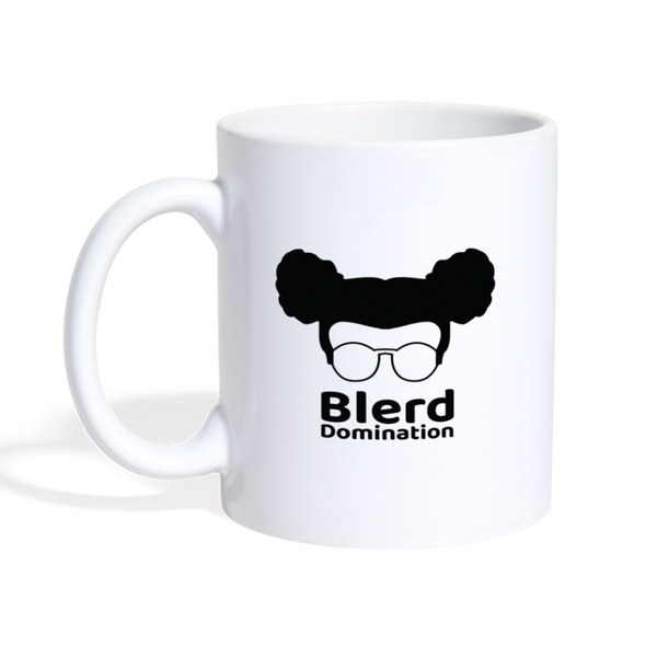 Blerd Domination Logo Mug - white