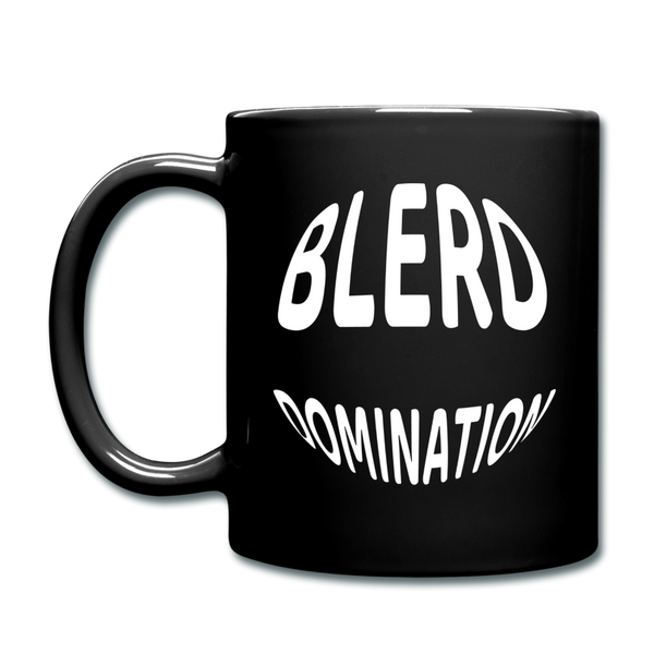 Blerd Domination Globe Mug - black