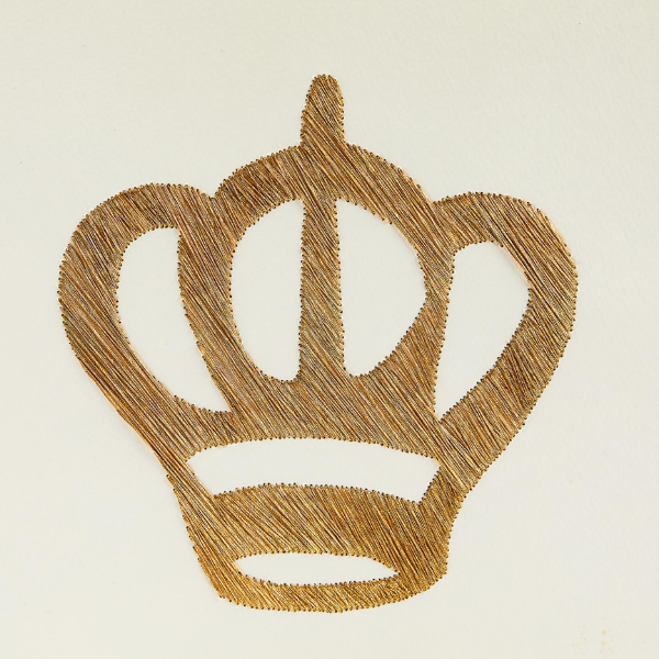Embroidery Liturgy Series — Crown By Leor Grady