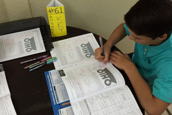DynaNotes intervention programs include helpful answer keys math program activity book answer keys show line-by-line solutions enabling answer key stations as learning centers student course notes used as reference for staar teks preparation