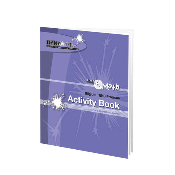 Grade 6 Math Student Activity Book
