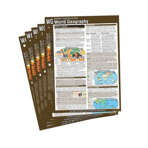 Legacy World Geography Student Course Notes 10-Pack