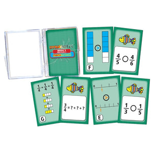 MathMatch - Grade 3, Fractions II