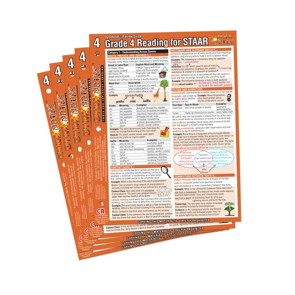 Legacy Grade 4 Reading Student Course Notes 10-Pack