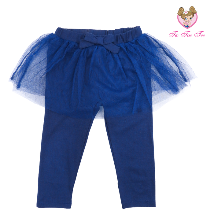 Set De Leggings + Tutu Para Niña