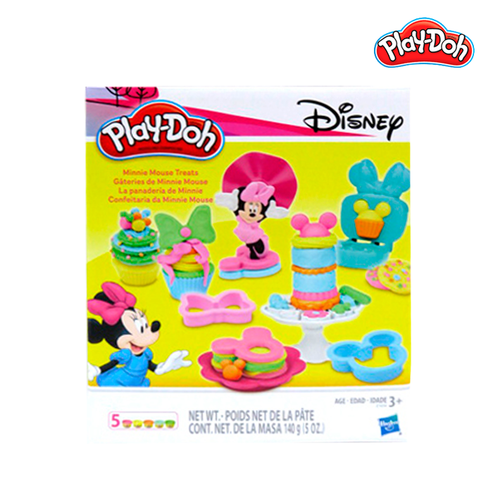 Play-Doh Minnie Mouse Treats
