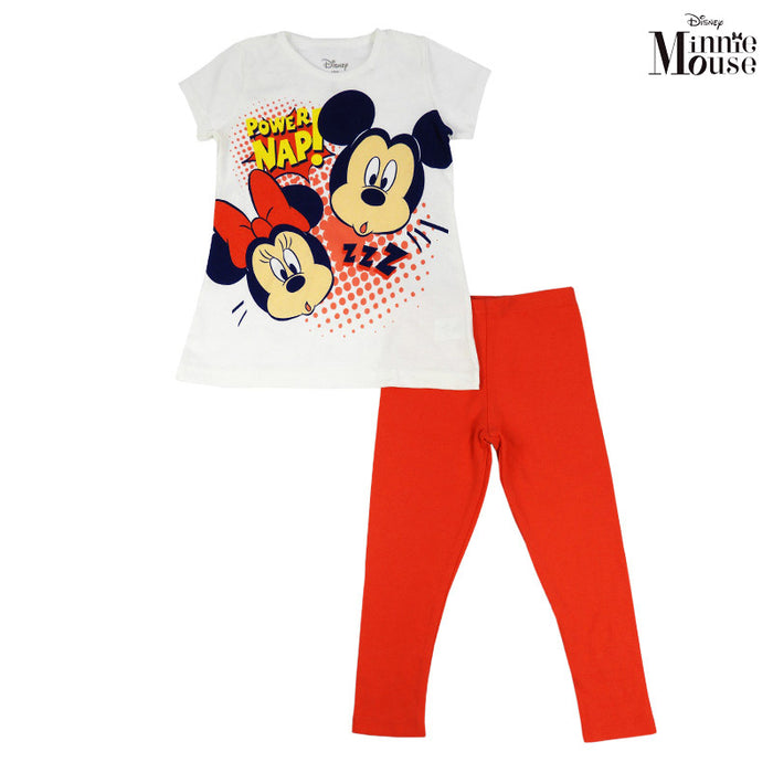 Conjunto De Minnie Y mickey