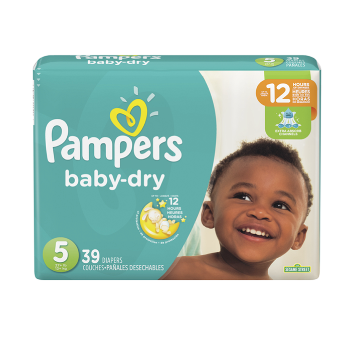Pampers Baby Dry Talla 5 - 39 Unidades