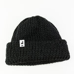 Load image into Gallery viewer, Black Knit Beanie