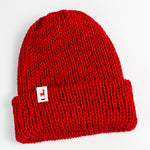 Load image into Gallery viewer, Crimson Knit Beanie