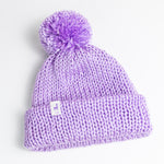 Load image into Gallery viewer, Lavender Knit Beanie