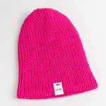 Load image into Gallery viewer, Neon Pink Knit Beanie