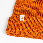 Load image into Gallery viewer, Orange Knit Beanie
