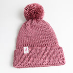 Load image into Gallery viewer, Rose Knit Beanie