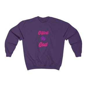 Gifted By God Pink Unisex Heavy Blend™ Crewneck Sweatshirt